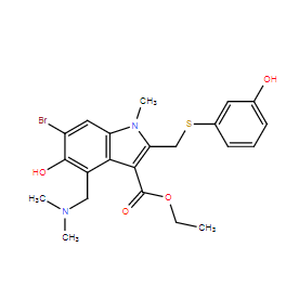 Arbidol analog